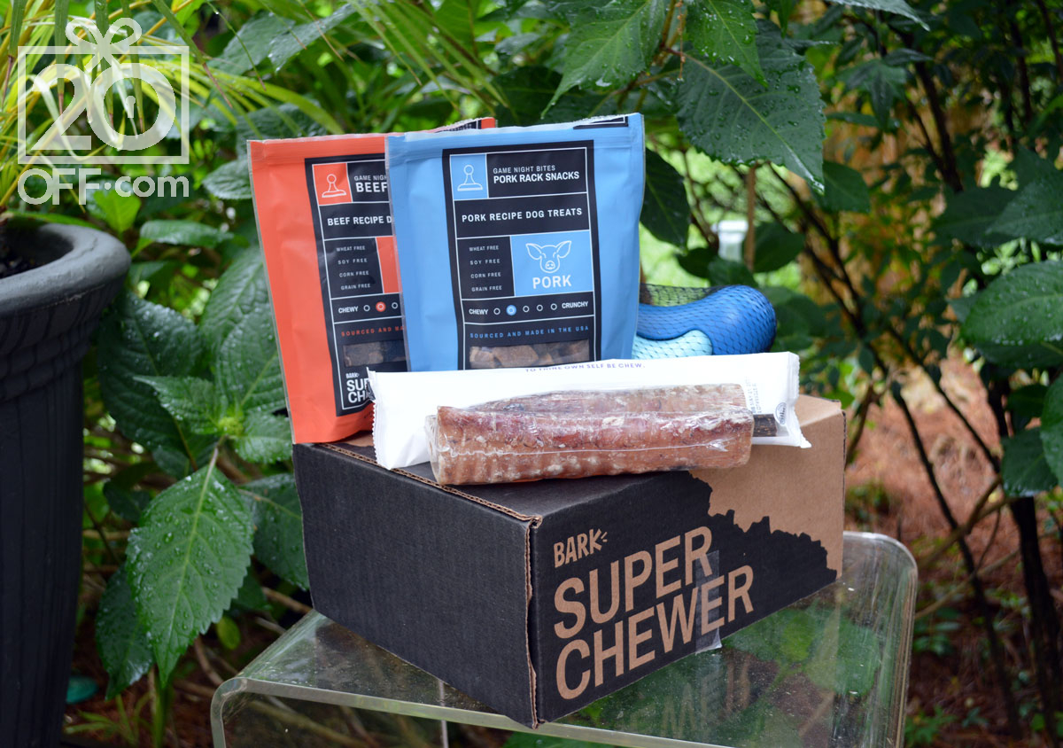 Favorite Items from Super Chewer