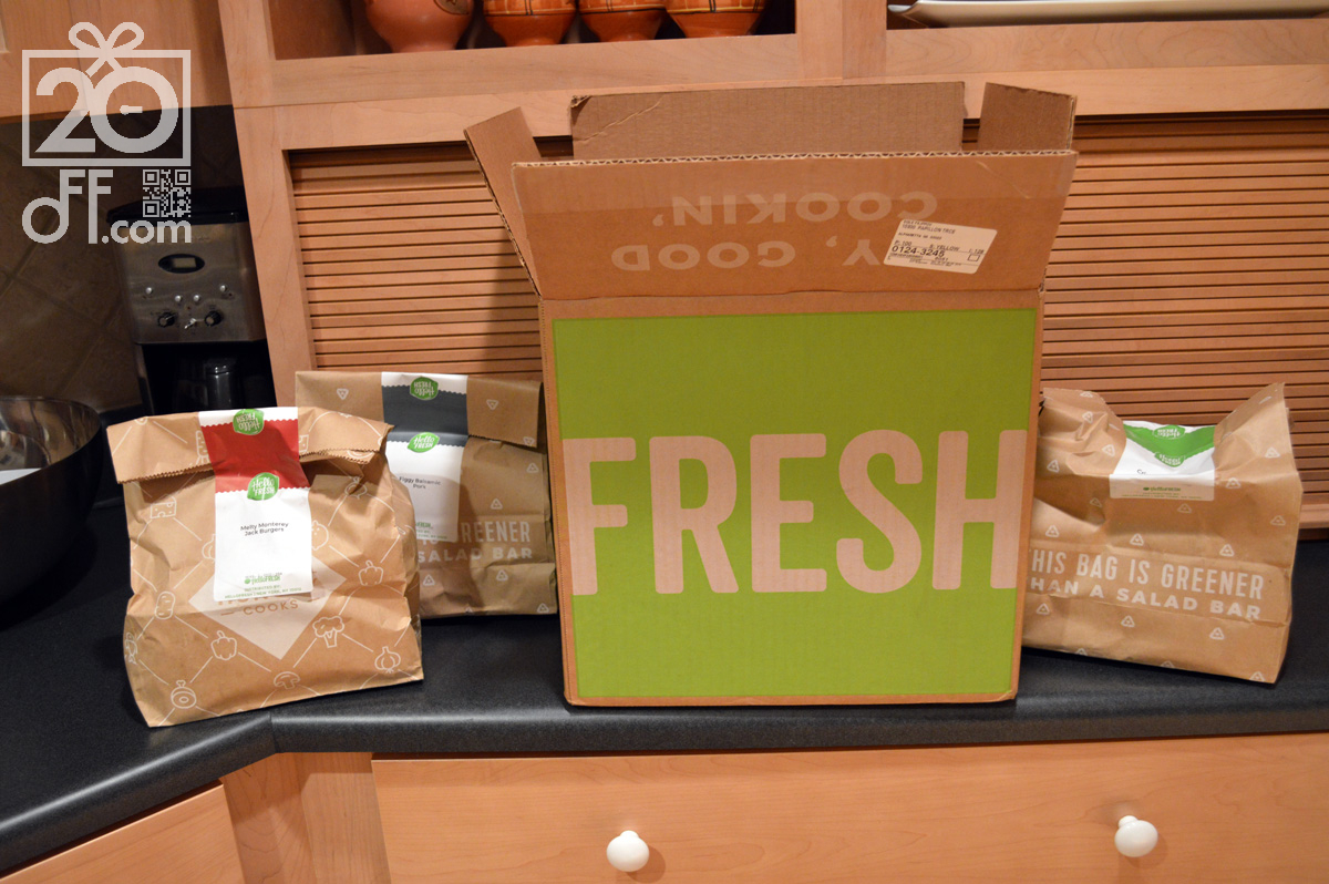 First Hello Fresh Review