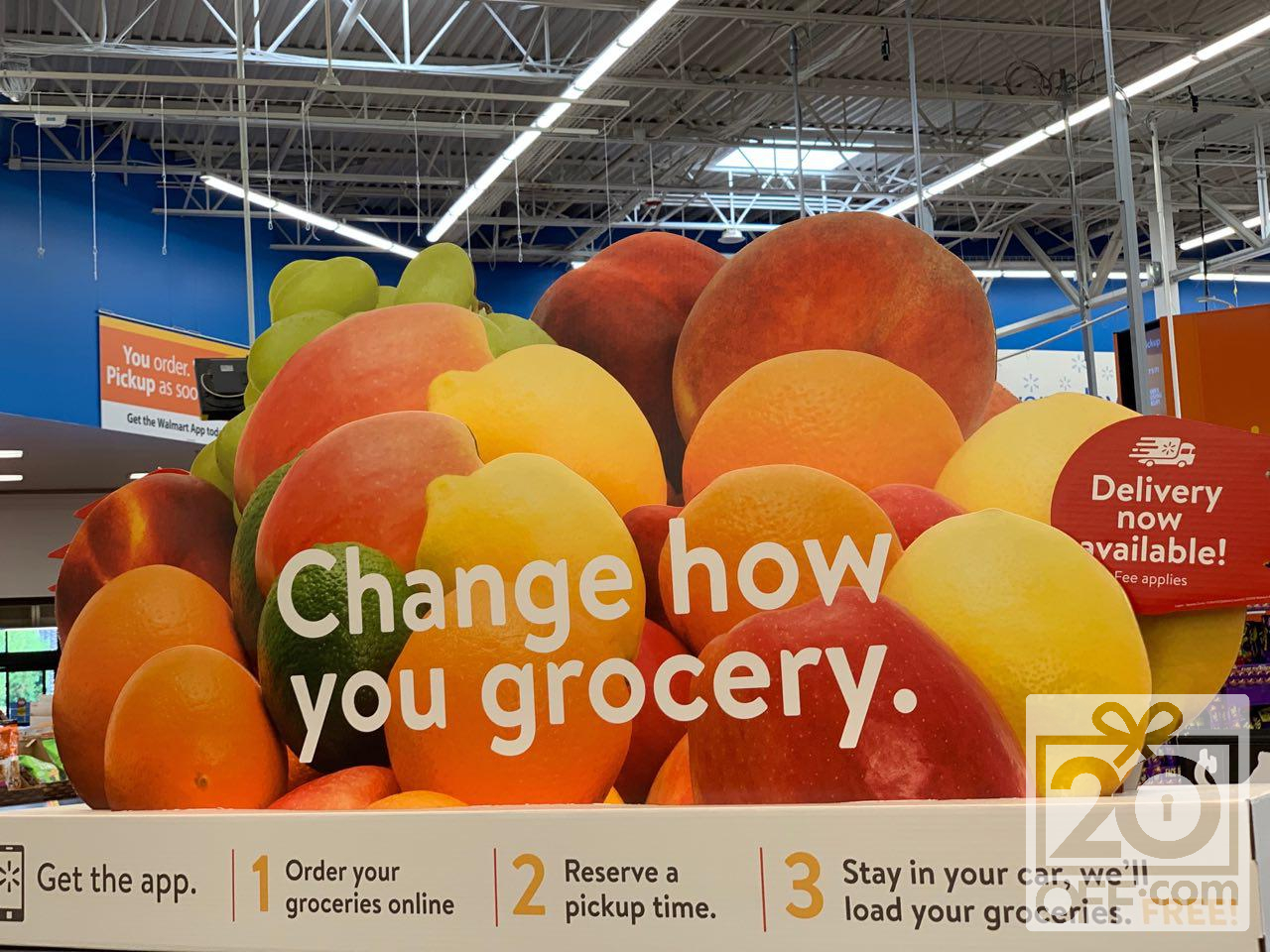 Free Grocery Delivery at Walmart
