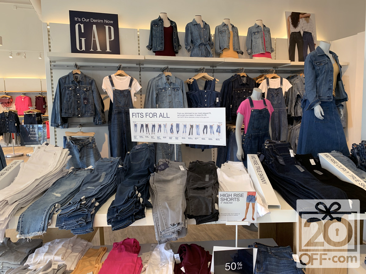 Gap 50% OFF Denim