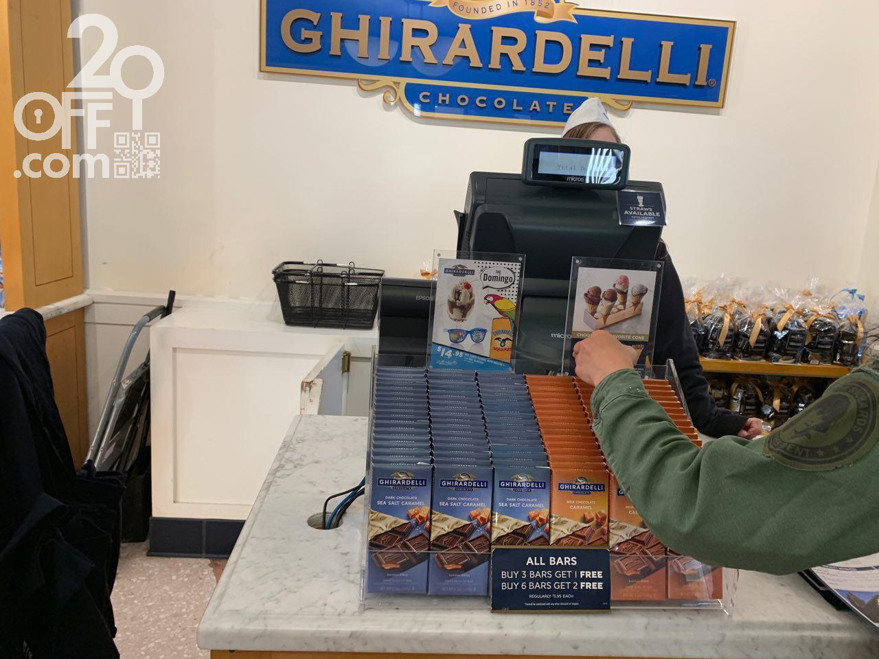 Ghirardelli Buy Three Bars Get One