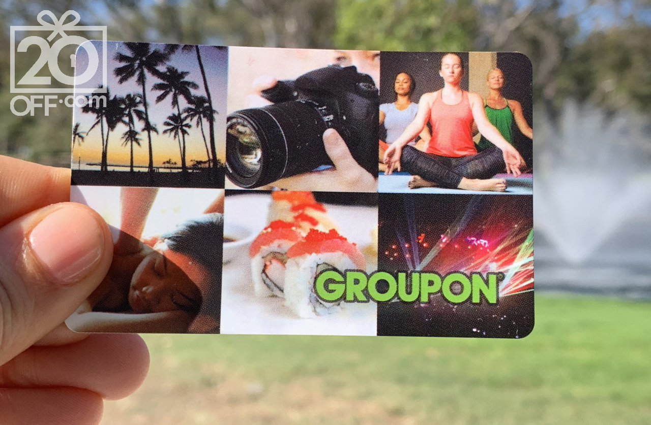 Gift Card From Groupon