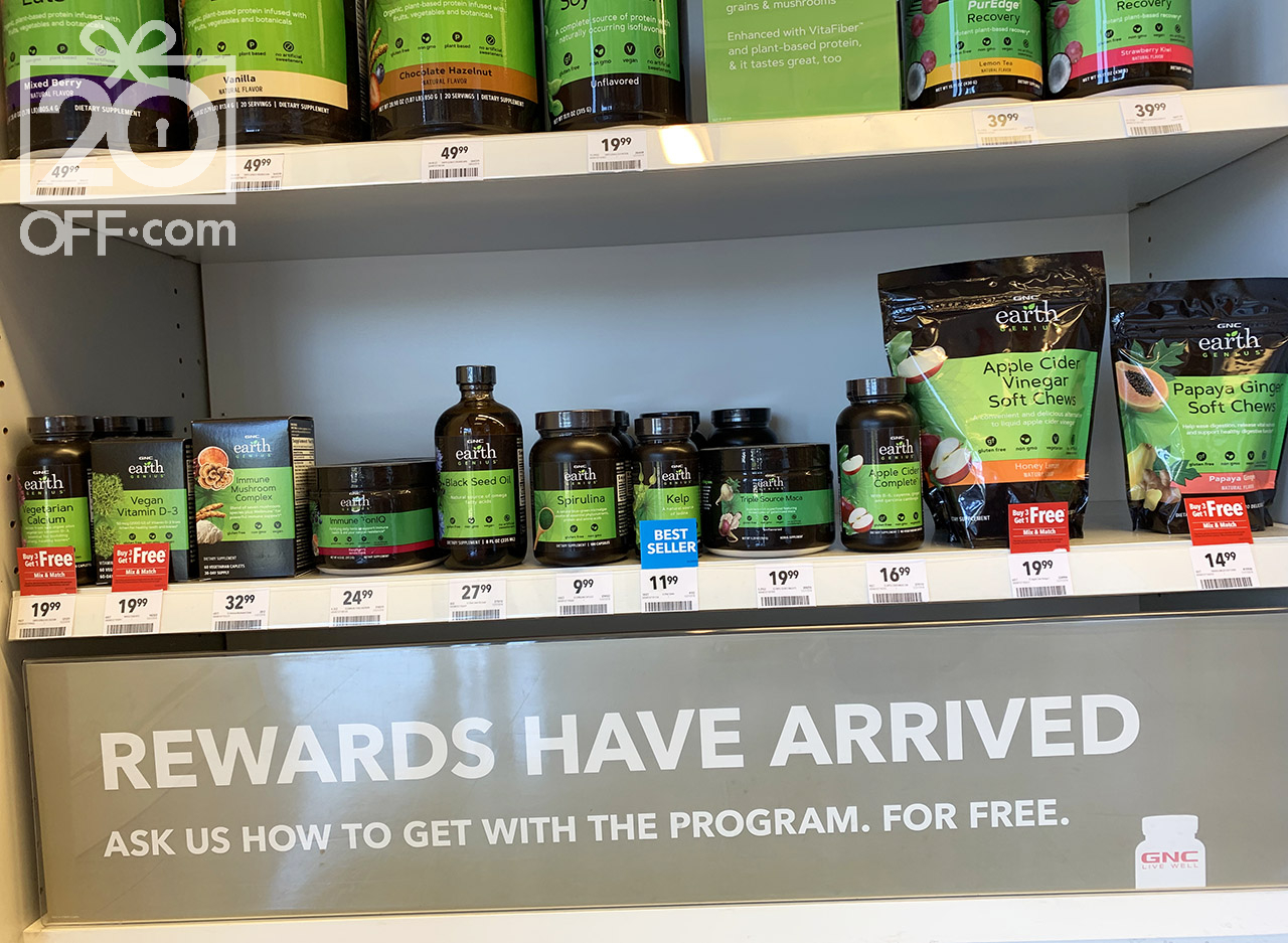 GNC Rewards Deal