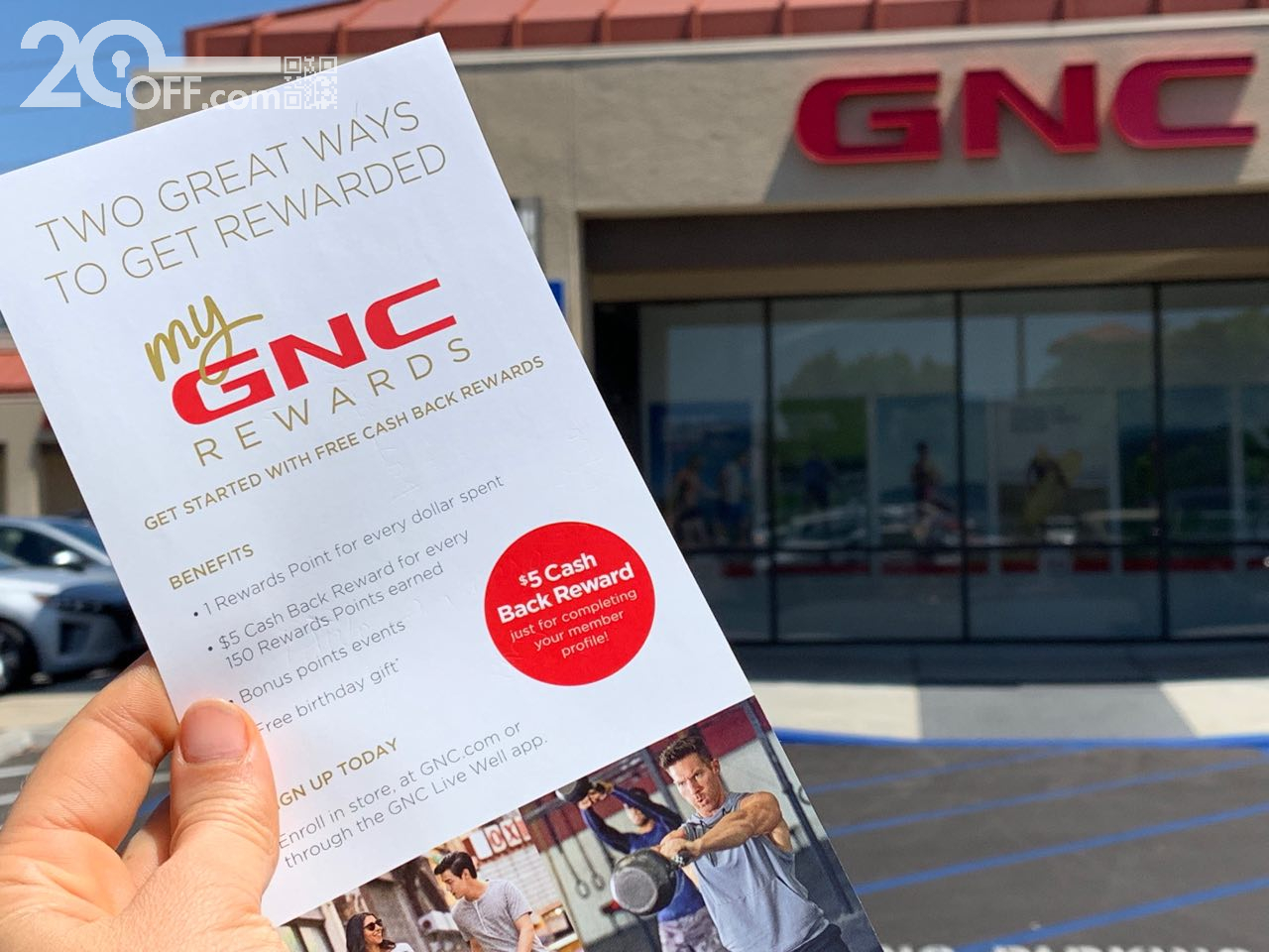 GNC Reward Program