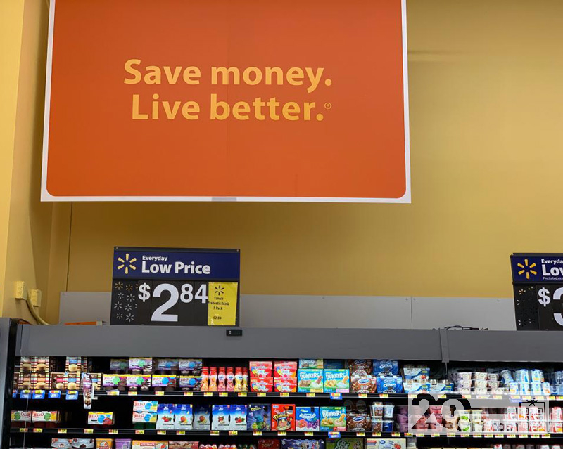 Groceries with Discount from Walmart