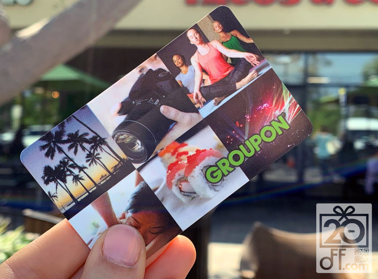 Groupon Gift card Deals