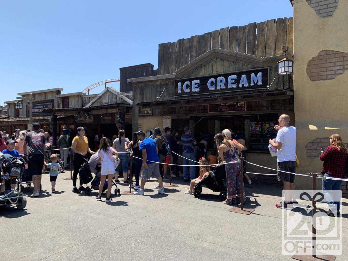 Knott's Berry Farm Ice Cream