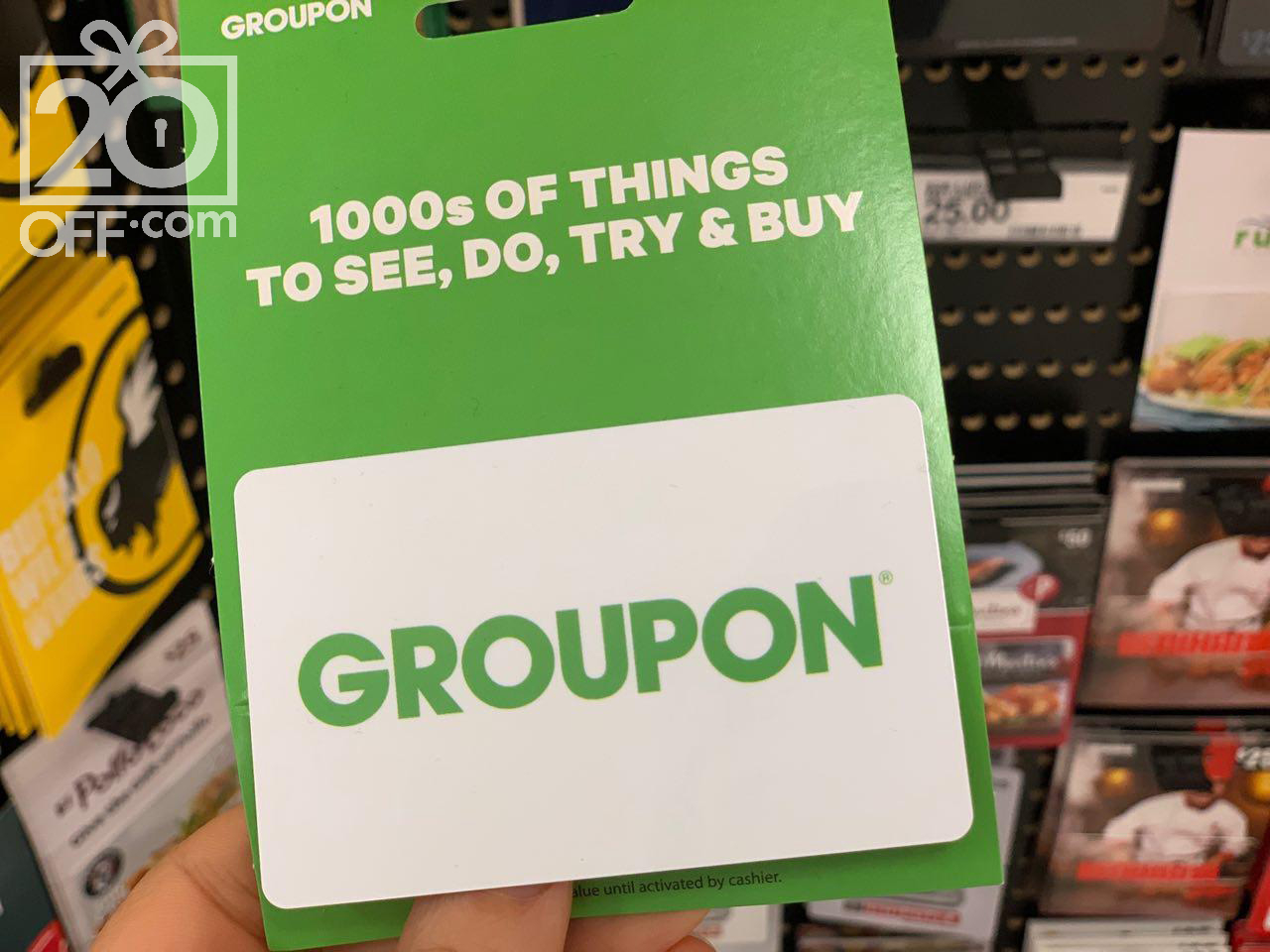 Groupon Promotion Offers