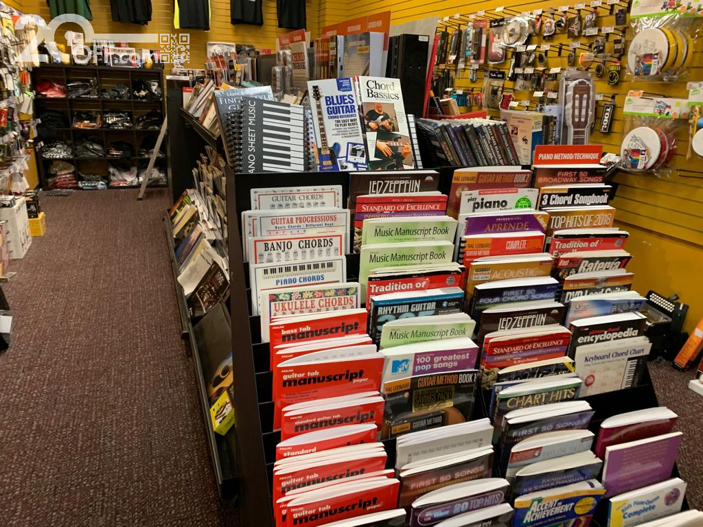 Guitar Center Books and Magazines