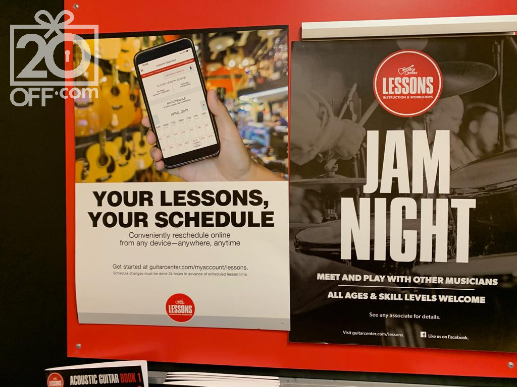 Guitar Center Lessons Schedule