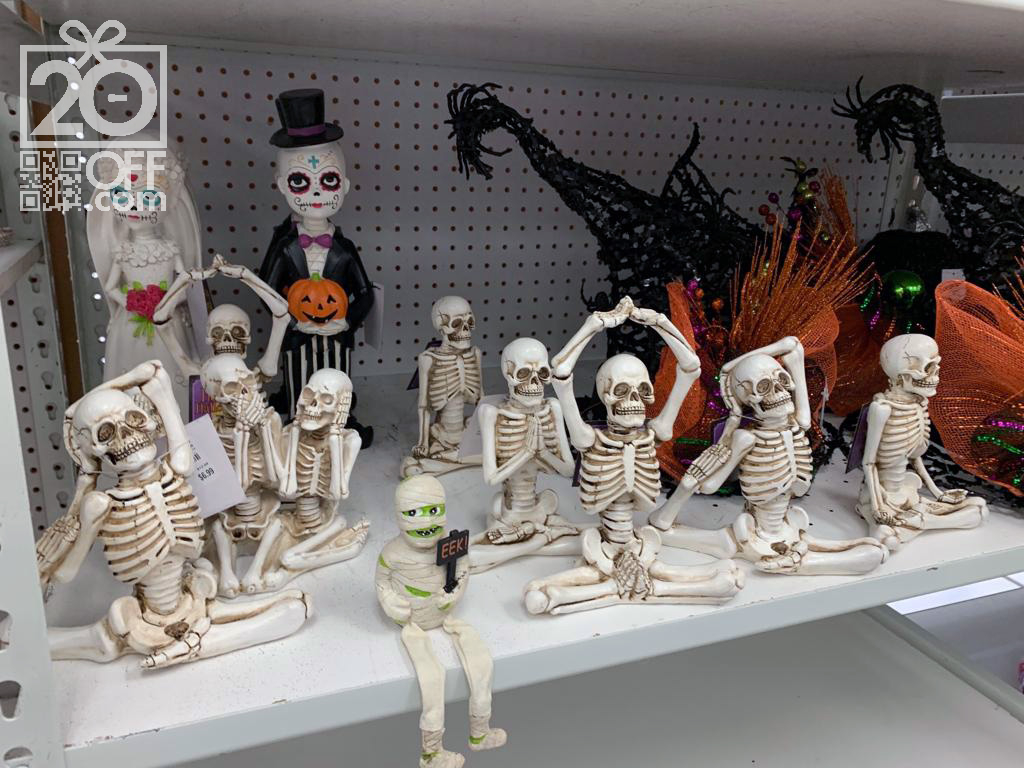 Halloween Skeleton Figurines