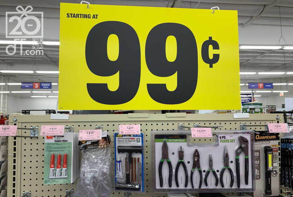 Harbor Freight $0.99 Items
