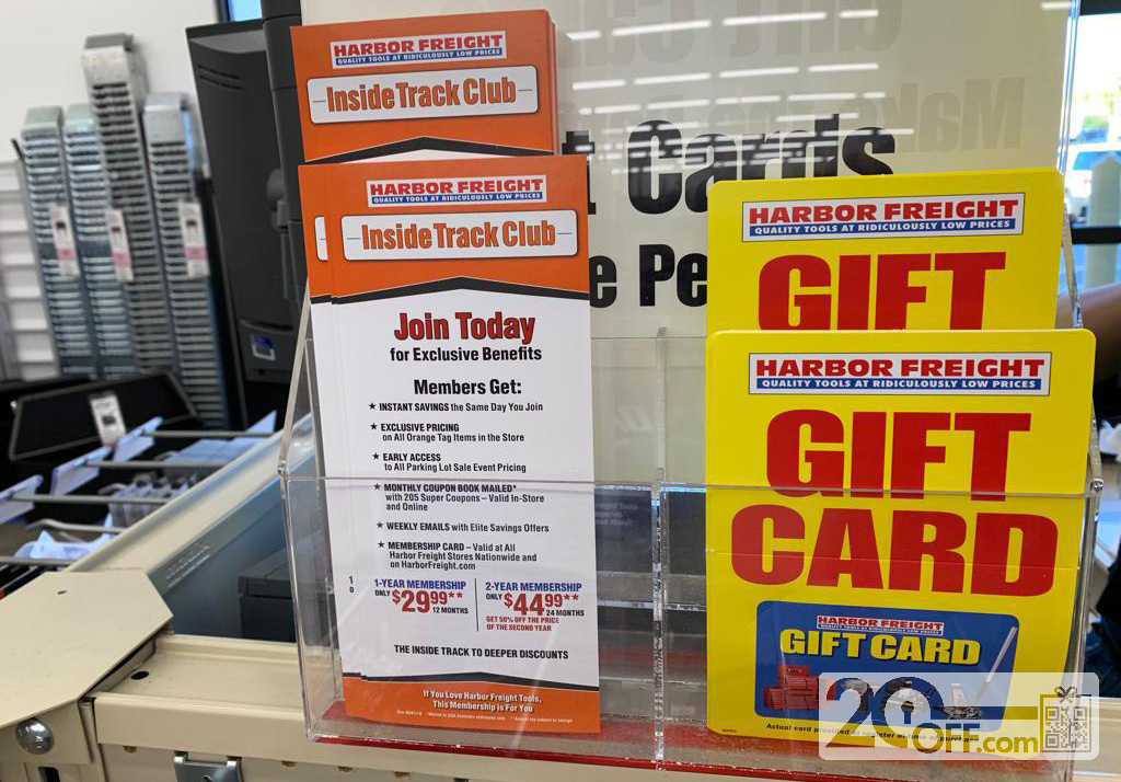 Harbor Freight Gift Card