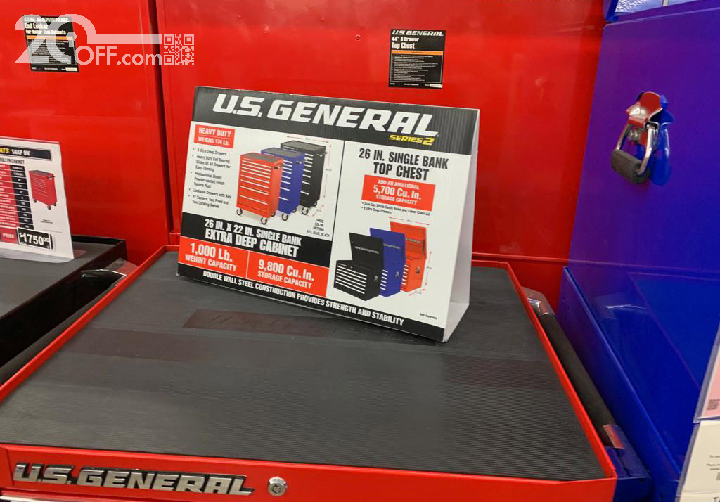 Harbor Freight US General series 2 tool box