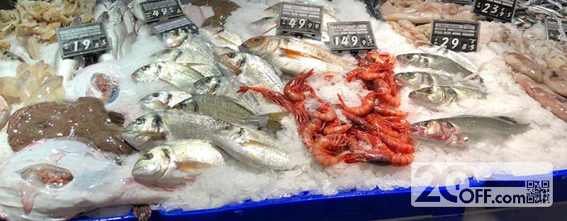 high quality fresh seafood at walmart