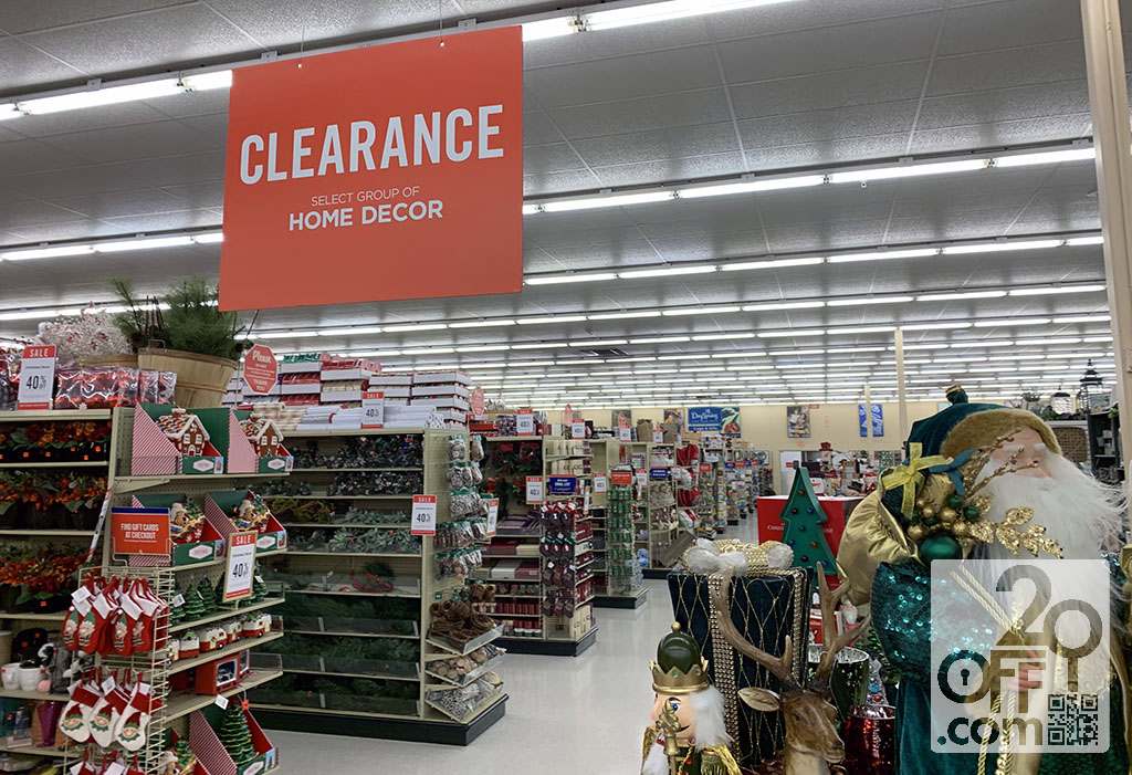 Hobby Lobby Decor Clearance