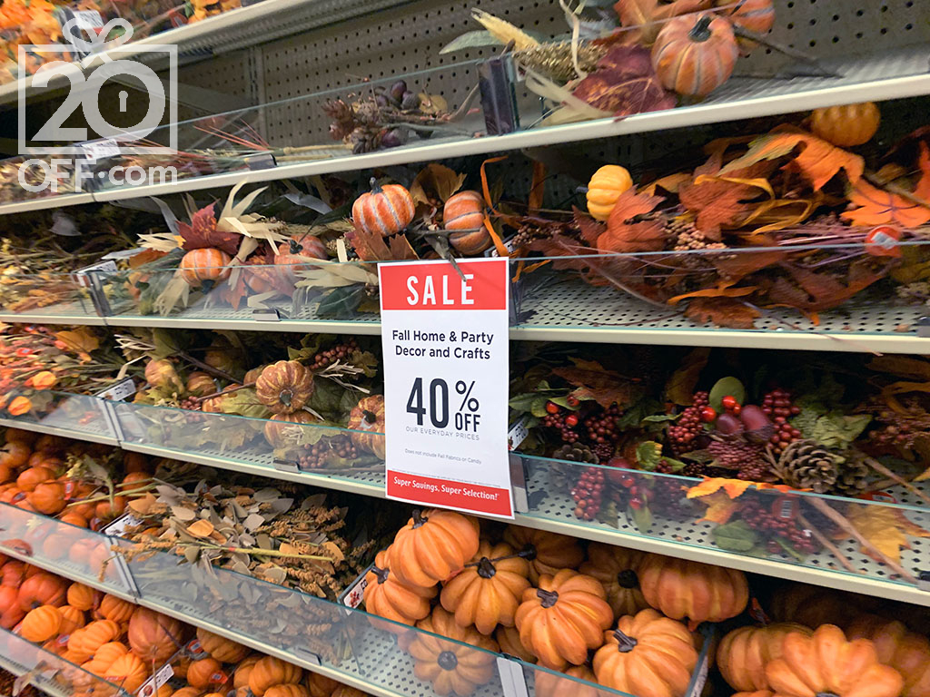 Hobby Lobby Fall Decor On Sale