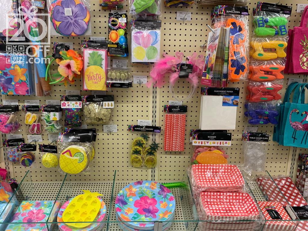 Hobby Lobby Party Supplies Sale