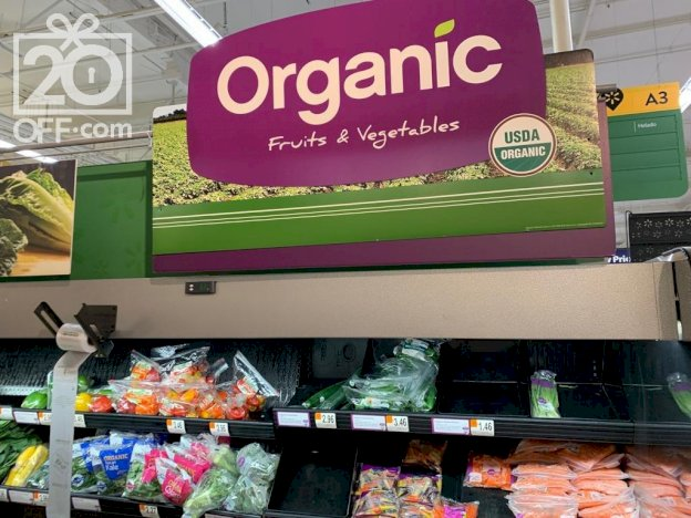 Instacart Organic Fruits and Vegetables