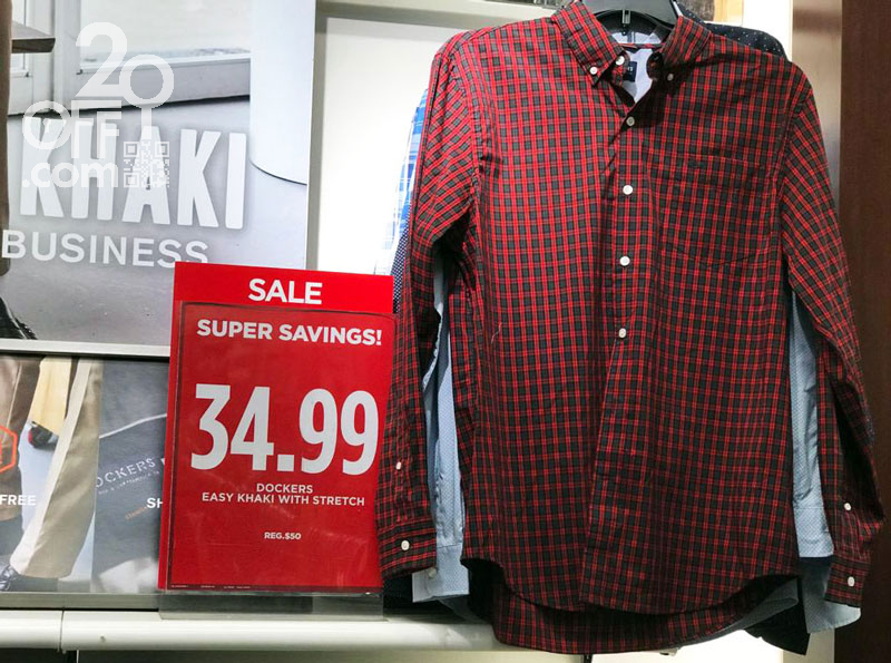 JCPenney apparel super savings