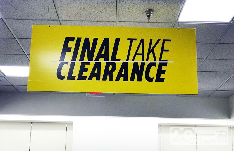jcpenney final take clearance