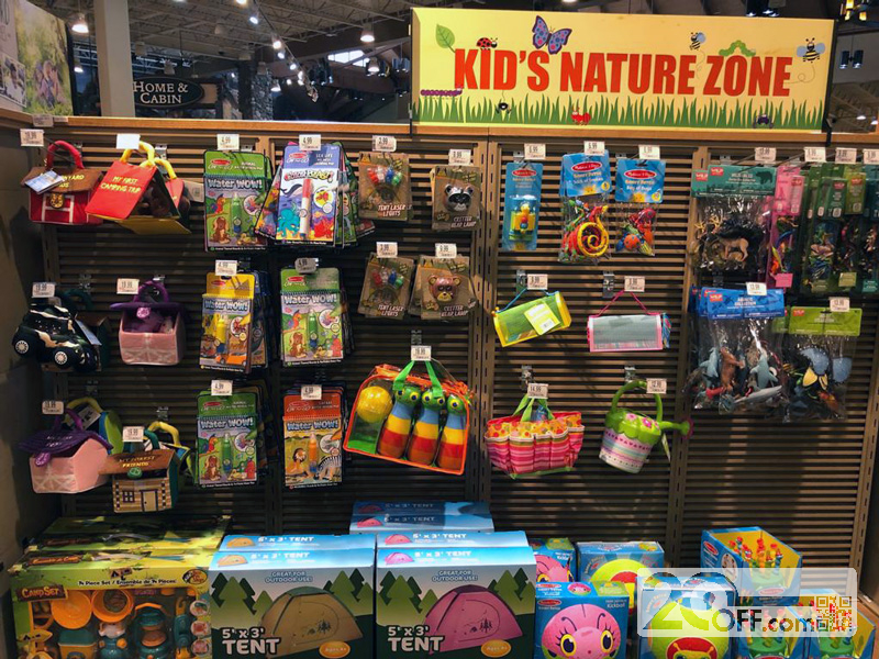 Kid's Nature Zone at Cabela's