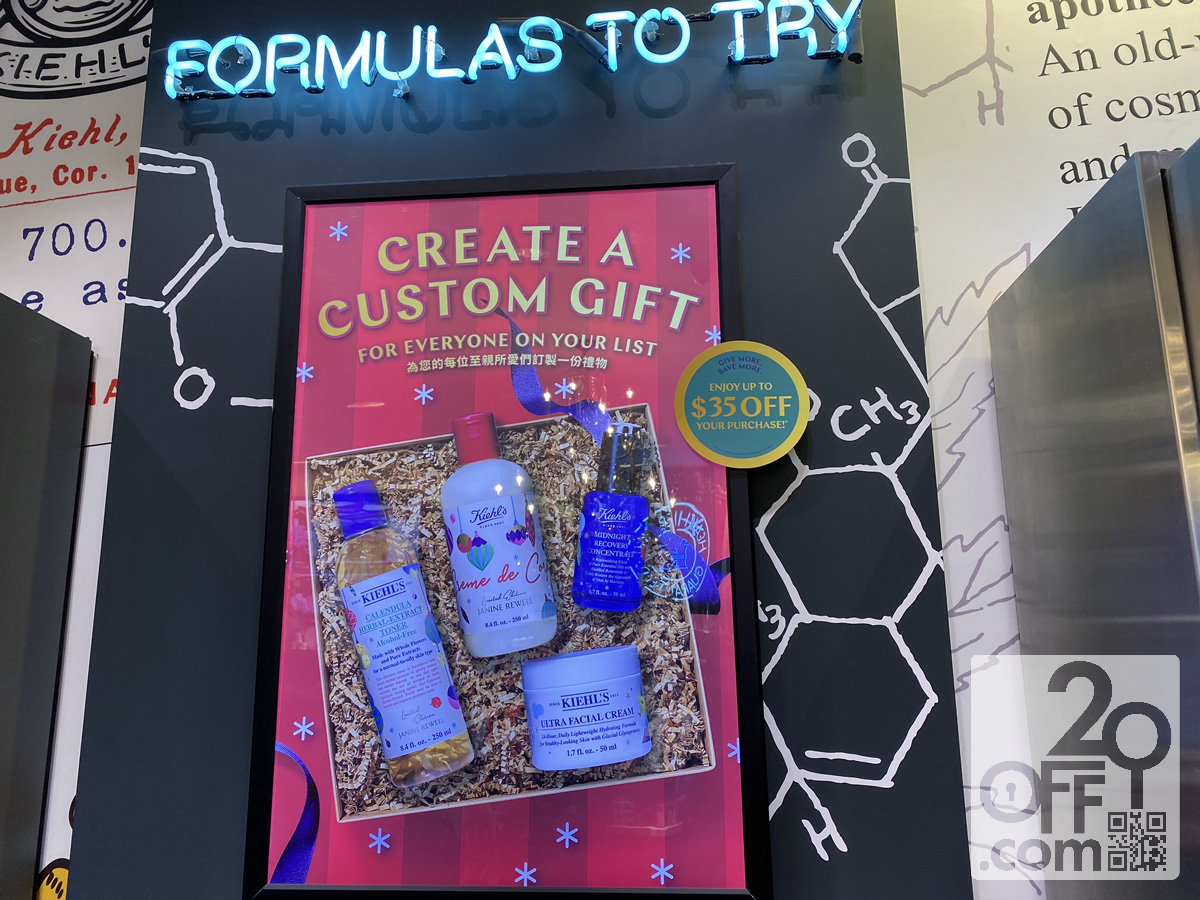 Kiehl's $35 OFF Discount