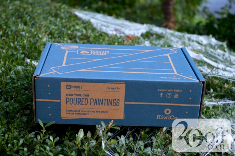 KiwiCo Doodle Crate Poured Paintings Box