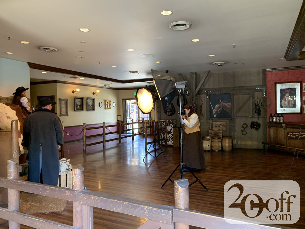 Knott's Berry Farm Old Time Photo Studio