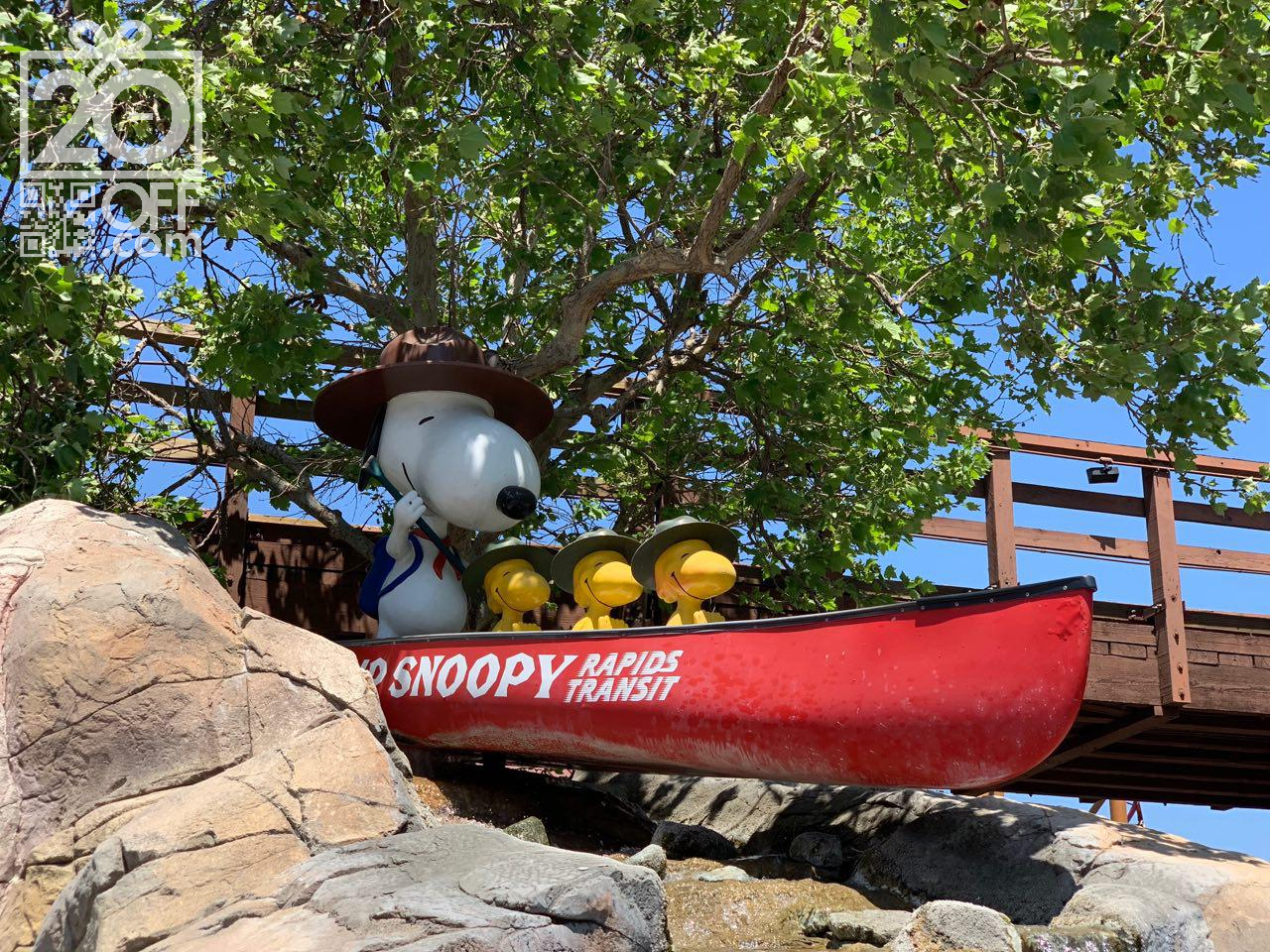 Knott's Berry Farm Snoopy Camp