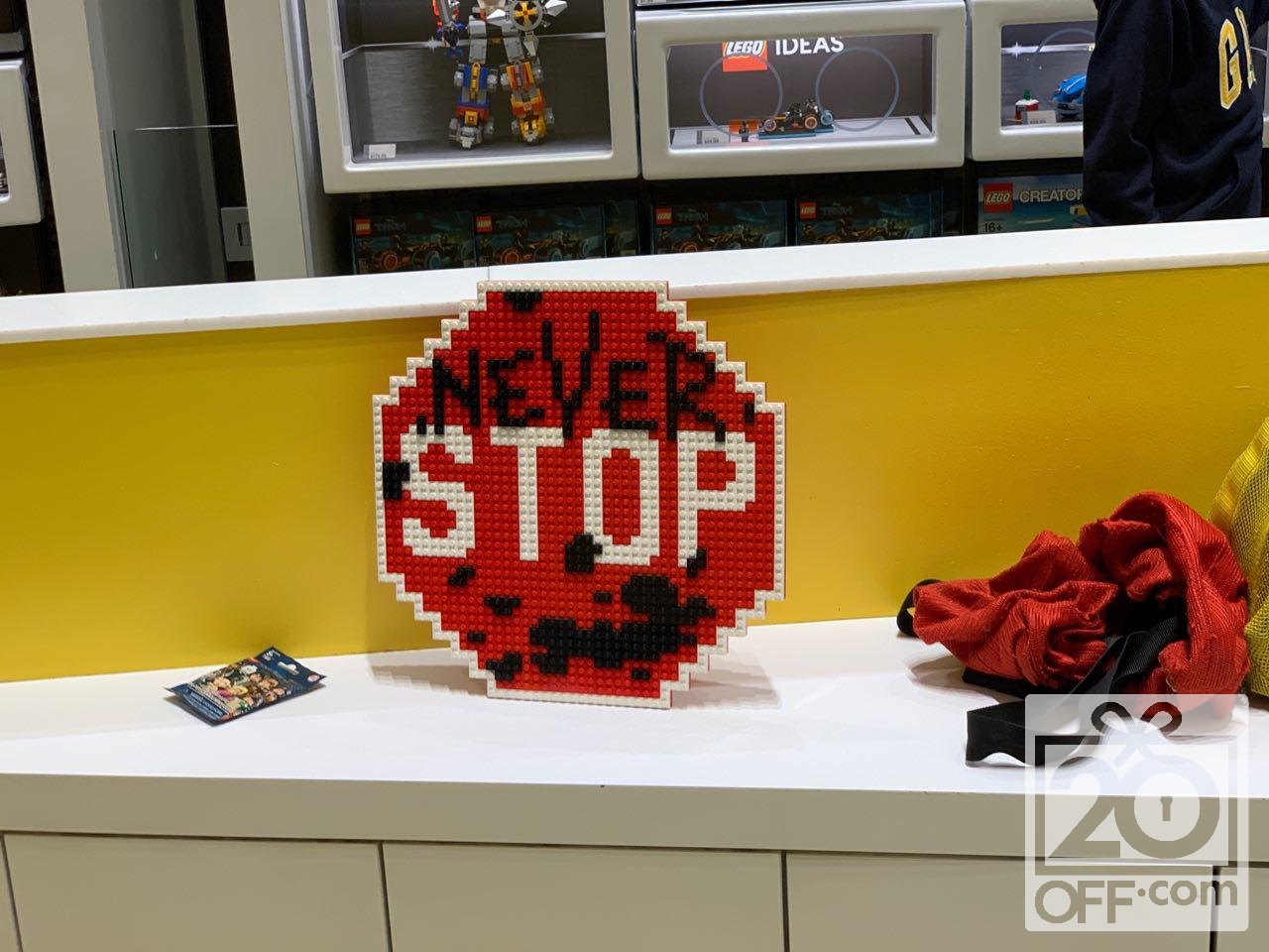 LEGO Never Stop Back-to-school