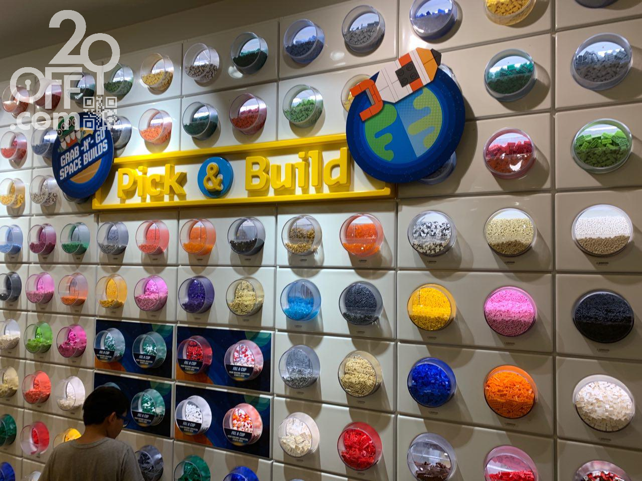 LEGO Pick And Build Wall