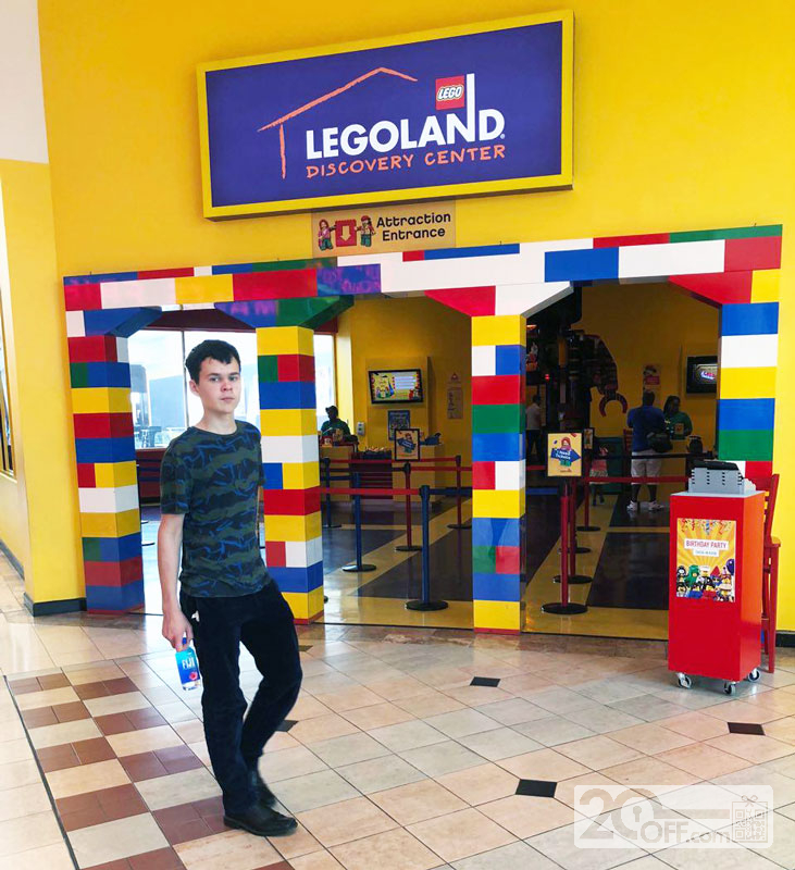 Legoland Discovery Center Admission