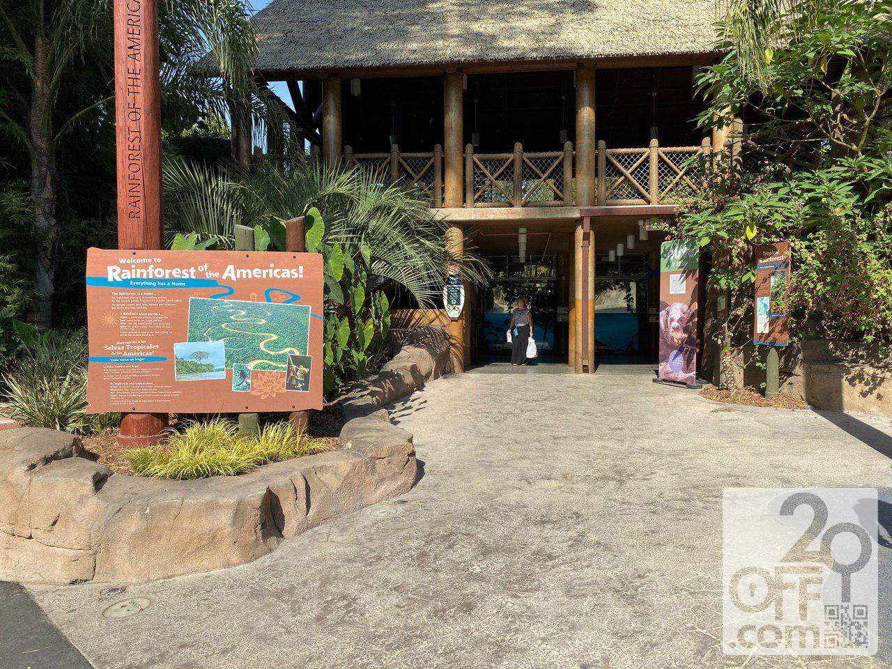 Los Angeles Zoo Rainforest of the Americas 2019
