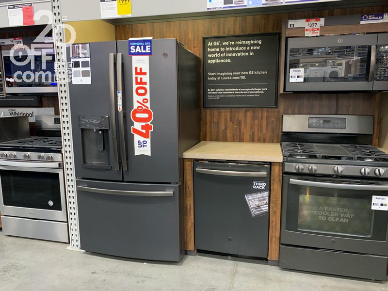 Lowes 40% OFF Appliances