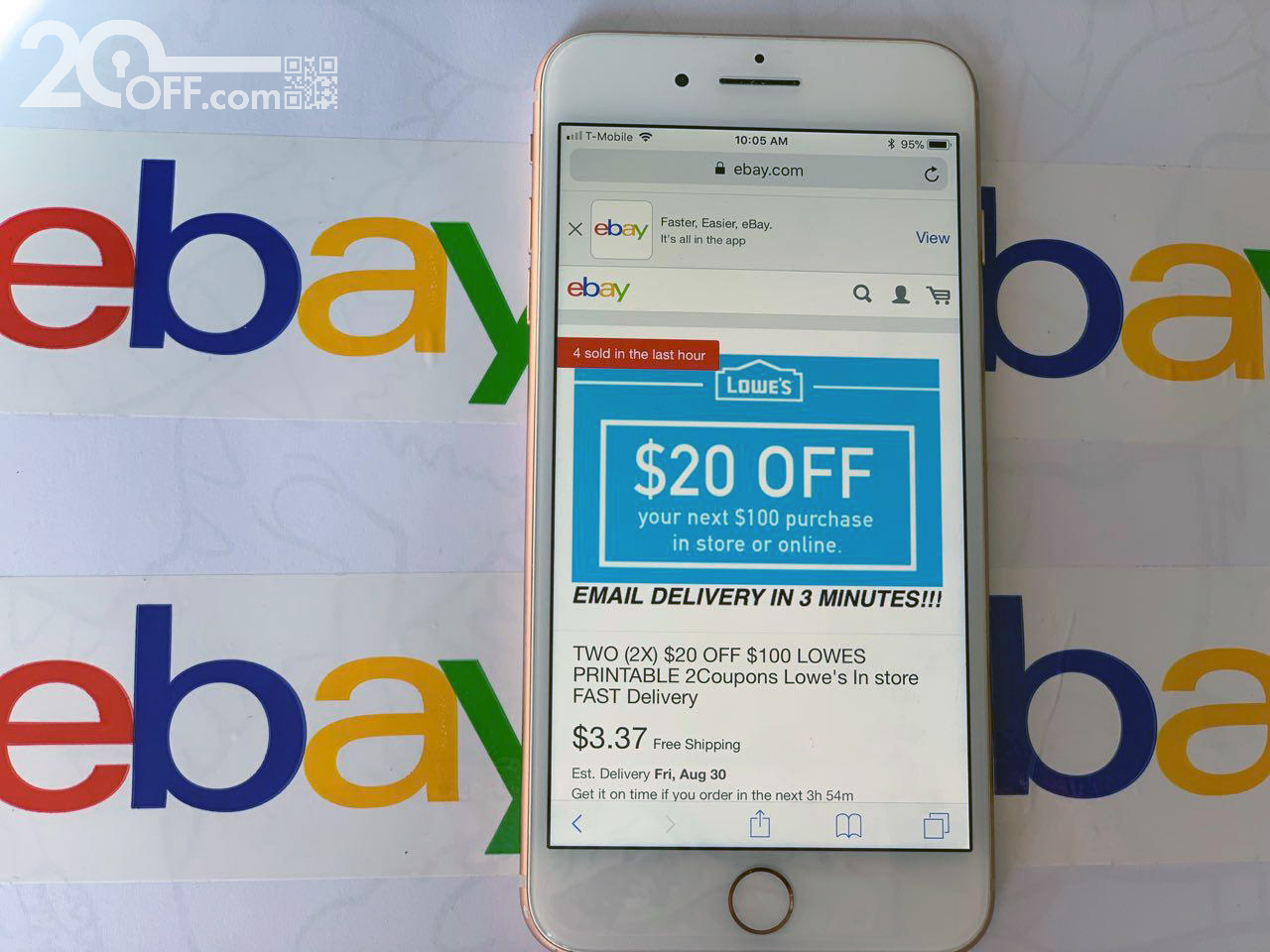 Lowe's ebay Coupons