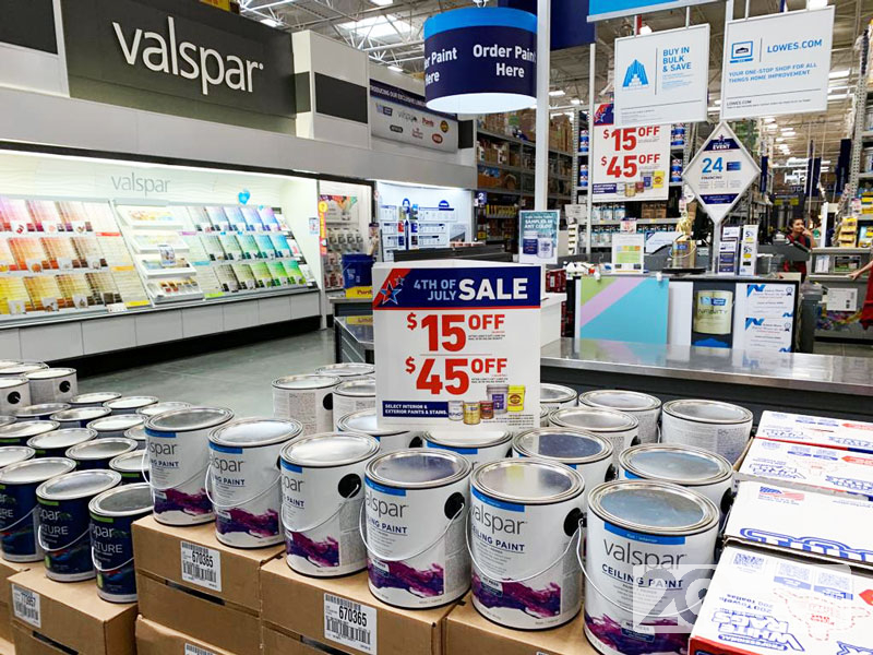 Lowe's Paint Discounts