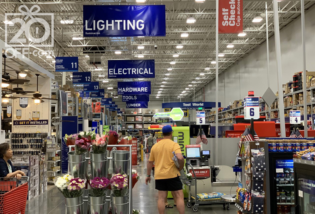 Lowes Store Inside