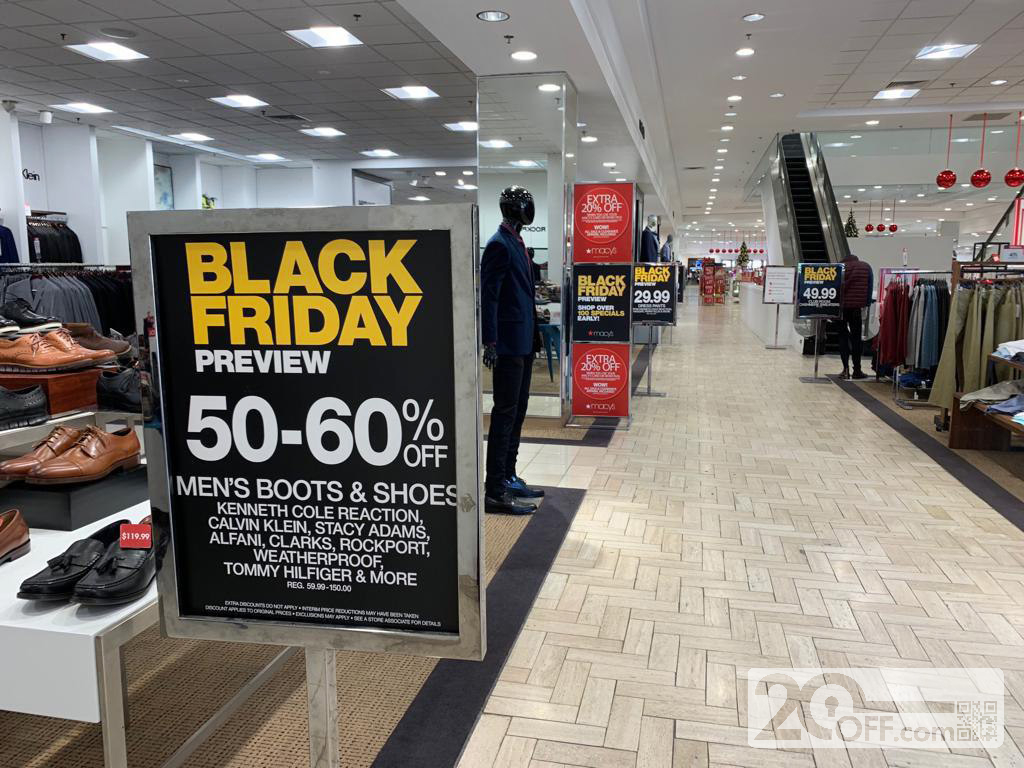 Macy's Black Friday 60% OFF Discount