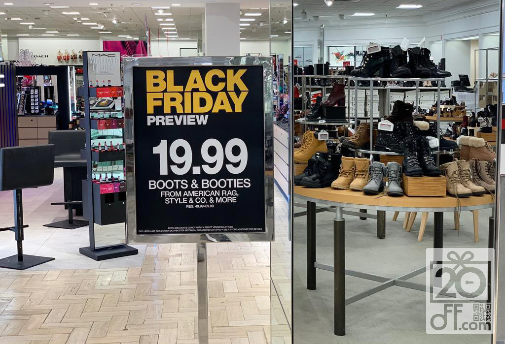 Macy's Black friday Boots Sale
