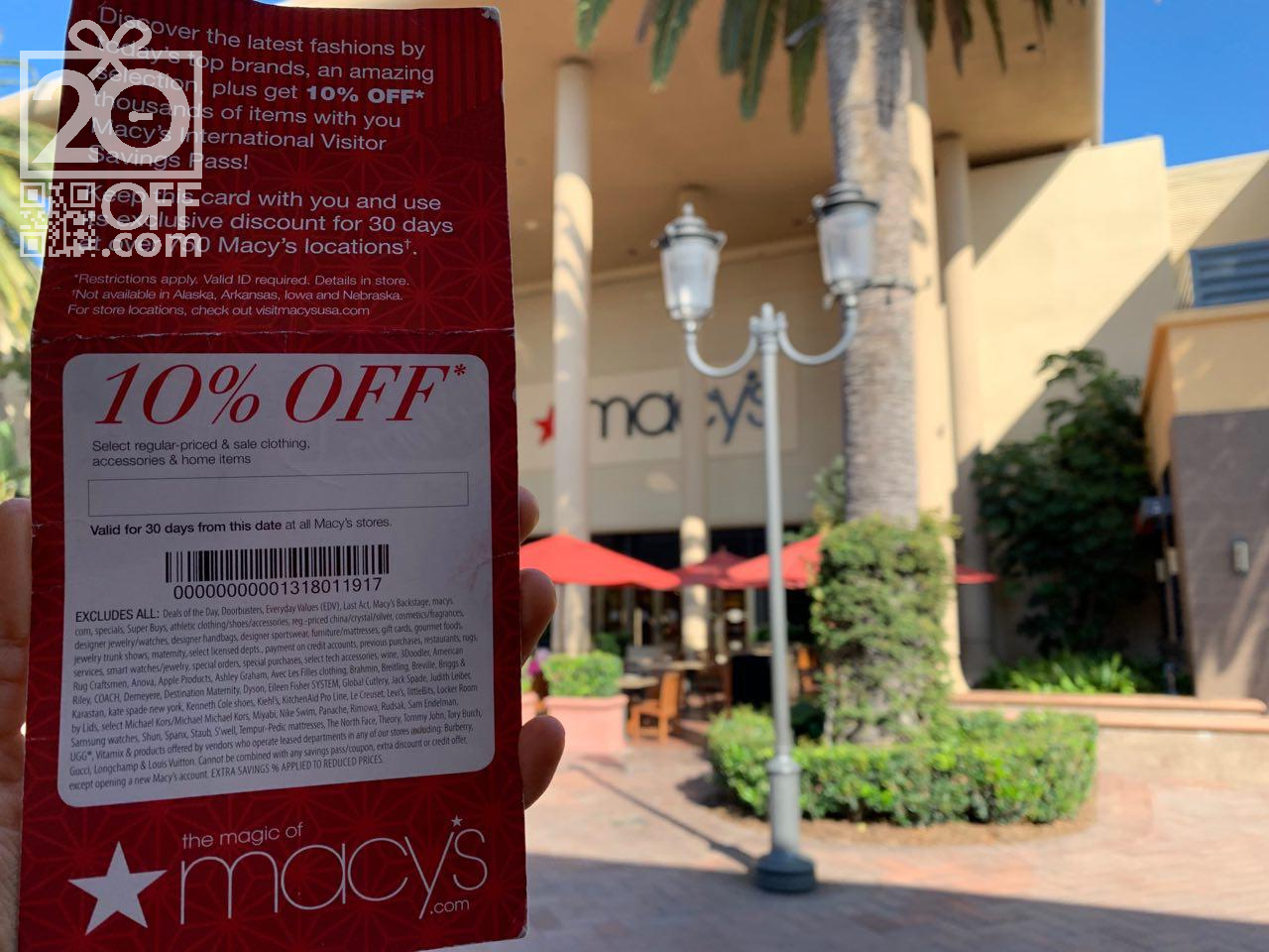 Macy S Free Shipping Promotional Codes November 2020