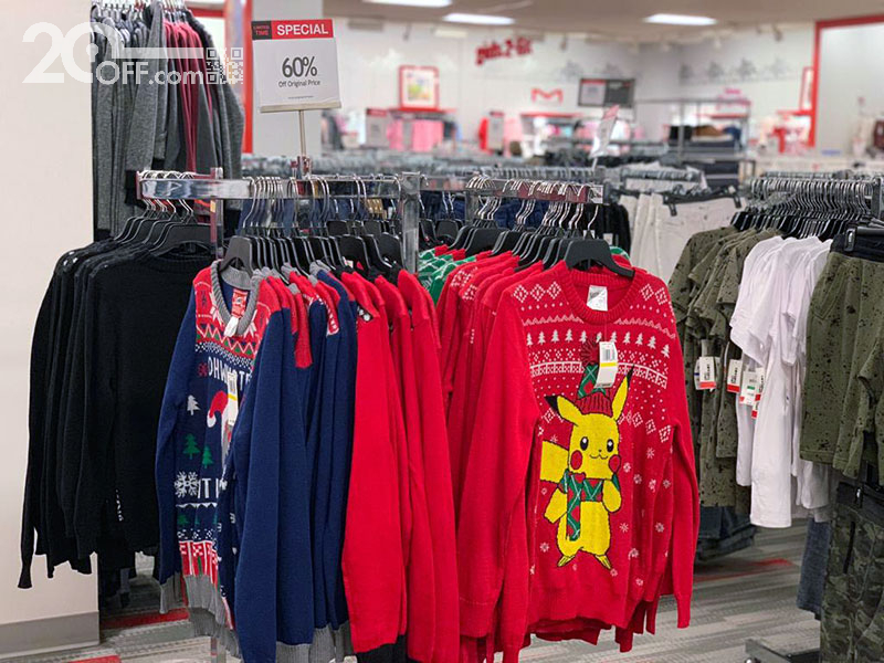 Macy's holiday sweater