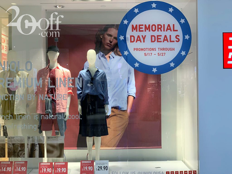Memorial Day Clothing Deals