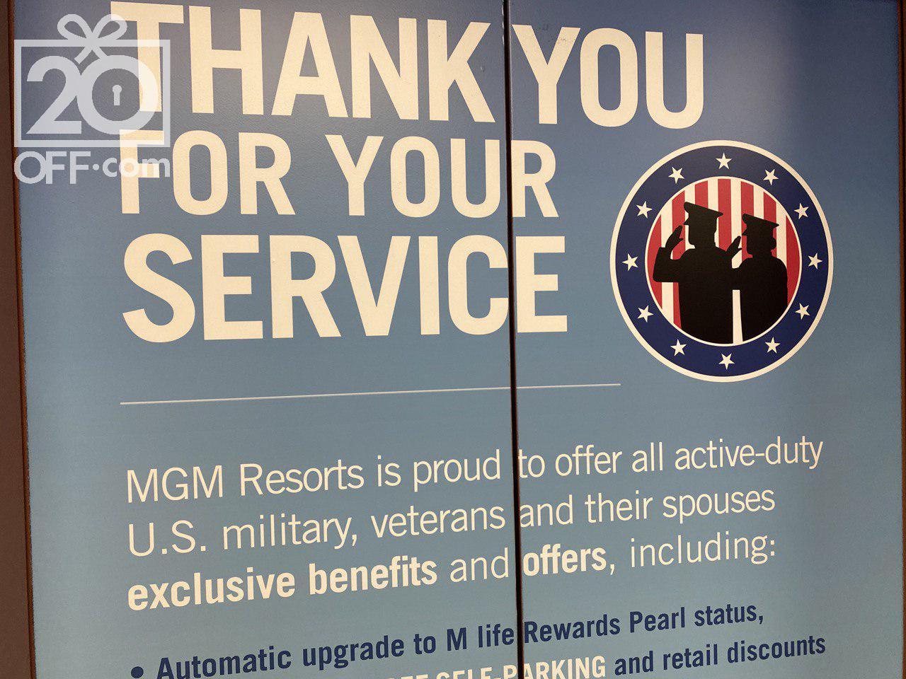 MGM Military Discount