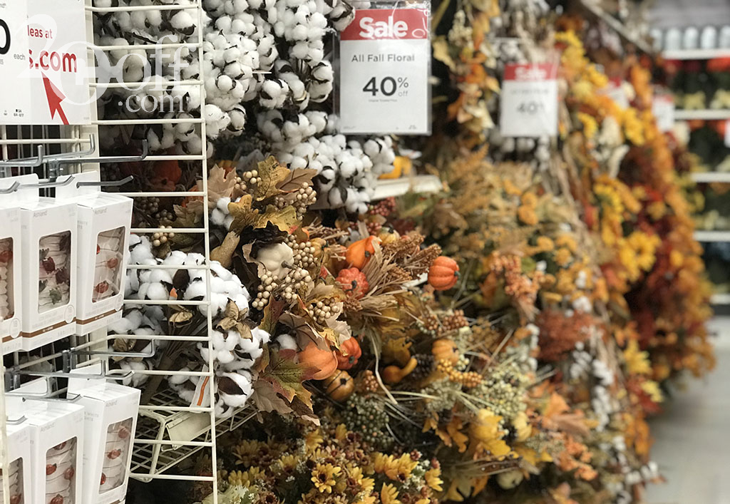 Michaels Fall Discount