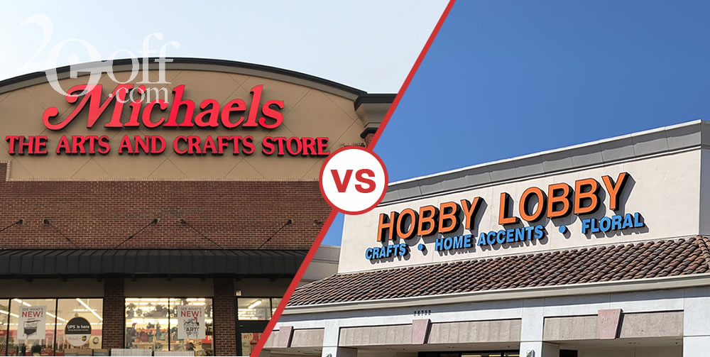 Michaels vs Hobby Lobby