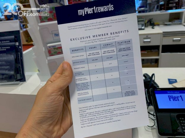 MyPier1Rewards Exclusive Members Benefits