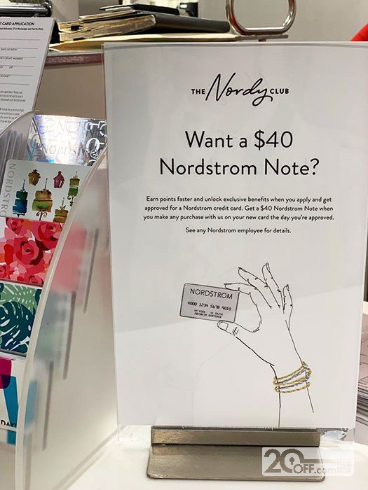 Nordstrom nordy club offer