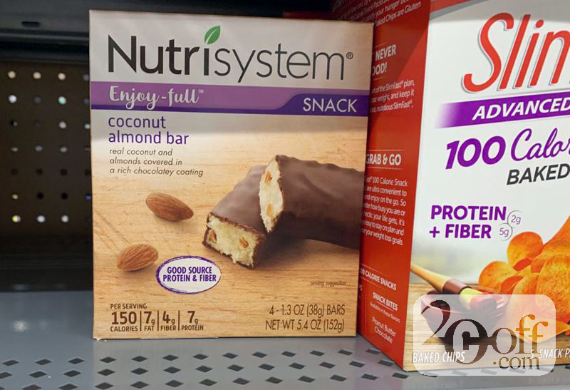 Nutrisystem Coconut Amond Bar