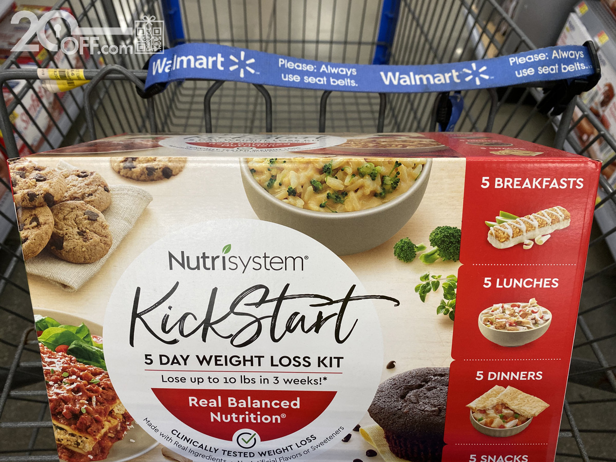 Nutrisystem for Men at Walmart
